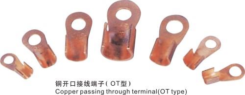铜开口接线端子OT